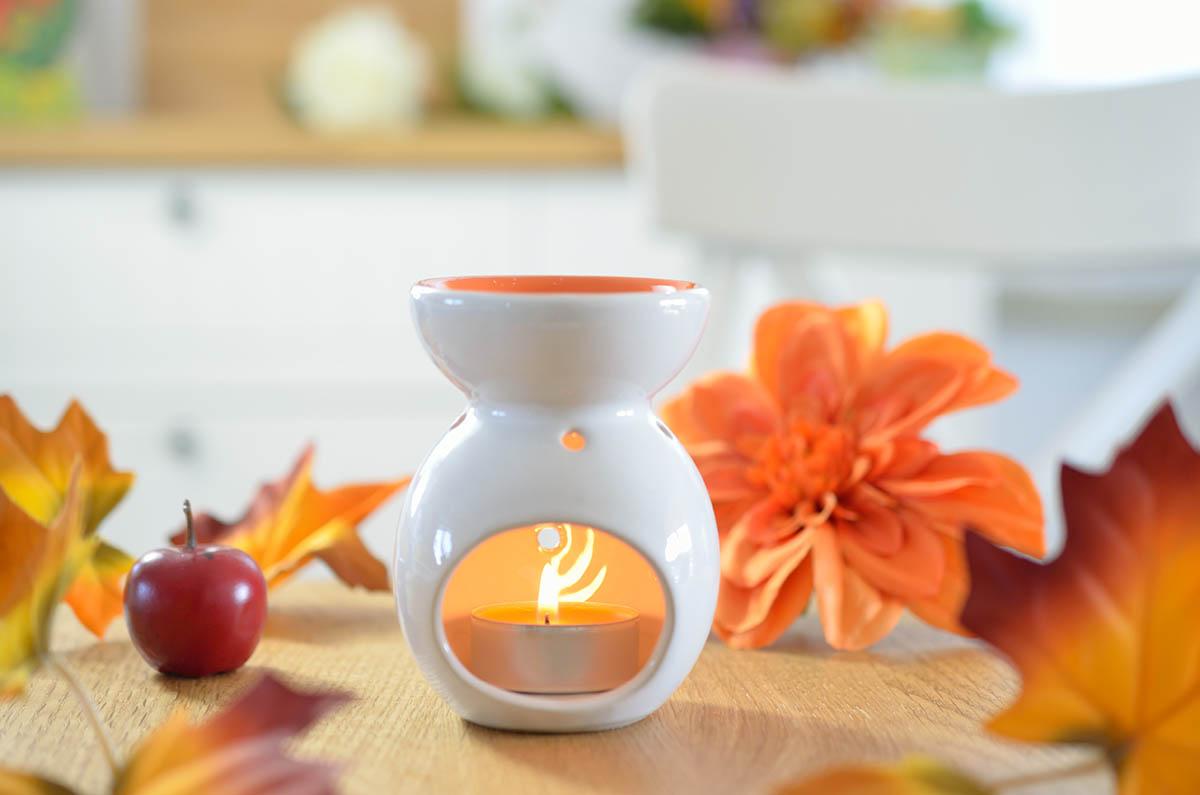 Aromaterapia - zapachowy kominek