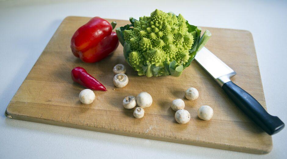warzywa i pieczarki